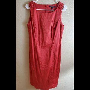 Brooks Brothers Sleeveless Sheath Career Dress